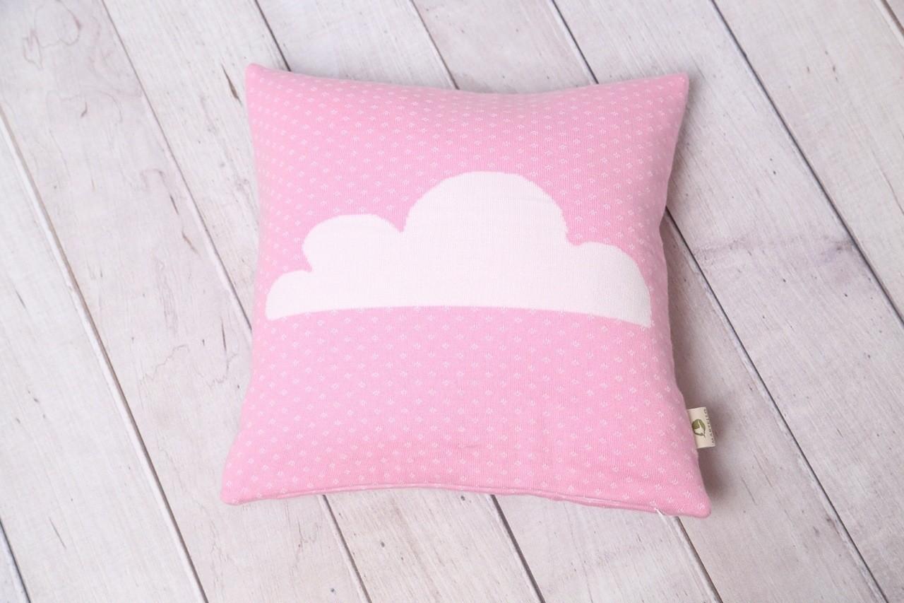 individualisierte projekte wolkenhimmel dein kissen mit namen aus biobaumwolle bio babydecke. Black Bedroom Furniture Sets. Home Design Ideas