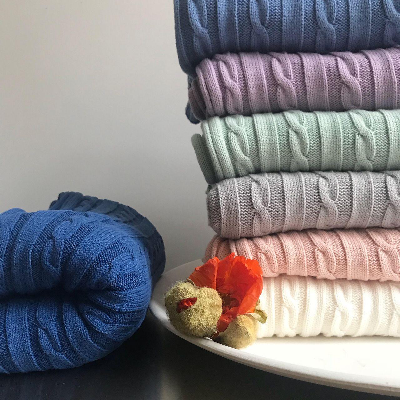 Mama-Schal aus Biobaumwolle alle Farben